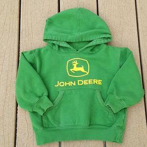 John Deere Green and Yellow Sweatshirt Hoodie